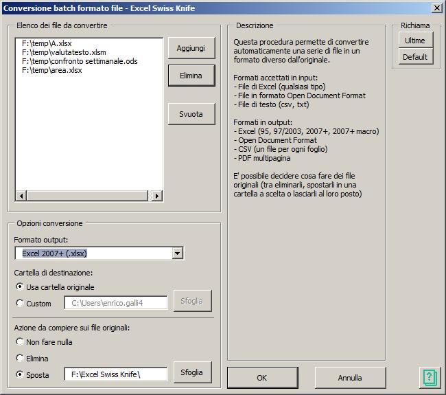 Conversione batch formato file