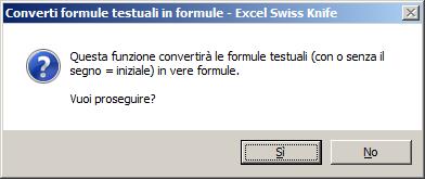 Converti le formule testuali in formule